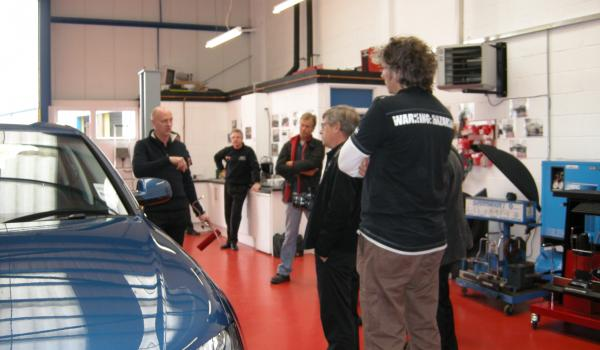 wheel alignment training course by Supertracker, Hampshire