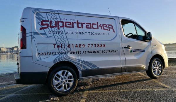 Supertracker wheel equipment servicing and support van
