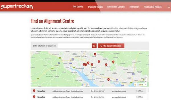"Coming Soon from Supertracker – ""Find an Alignment Centre"""